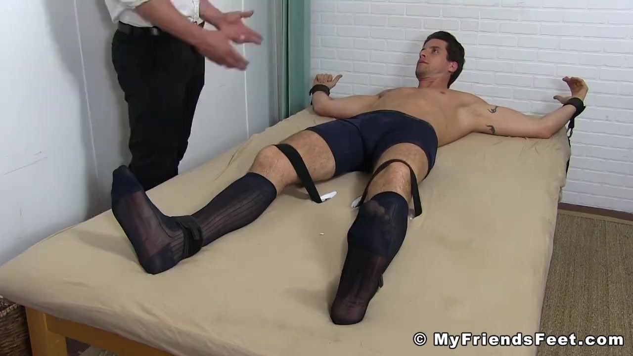 Guy tied up and stripped